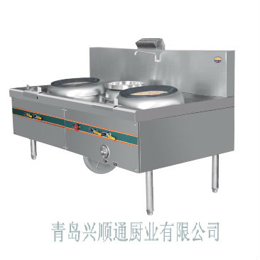 青岛厂家直销大量供应、定做、定制、优质广式双炒单温灶